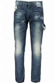ARMANI JEANS J02 Denim Blue Antifit Low Crotch Jeans Trousers